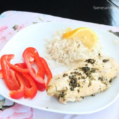 Slow Cooker Low Carb Lemon Chicken