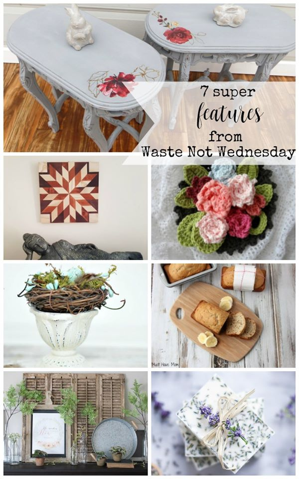 The featured post from this week's Waste not Wednesday link party.