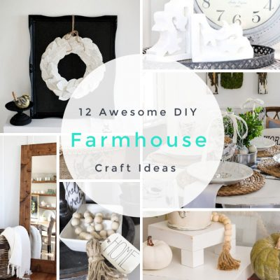 12 Awesome DIY Farmhouse Accessory Crafts to Update Your Decor