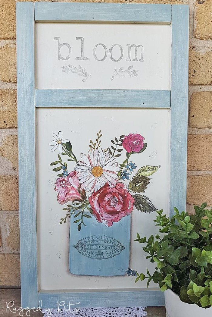 How to Upcycle A Chalkboard