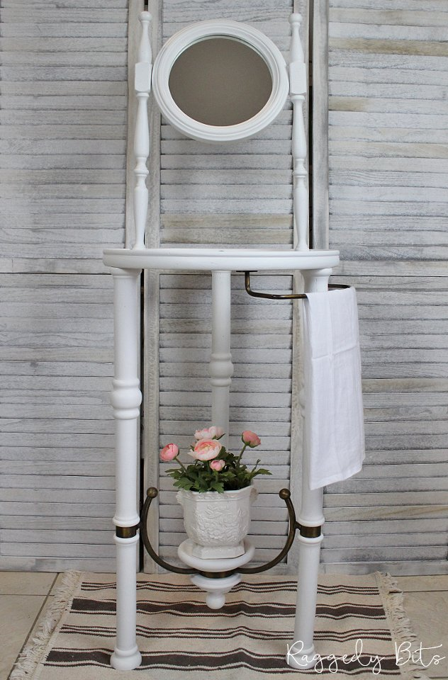 Victorian Washstand Upcycle Tutorial