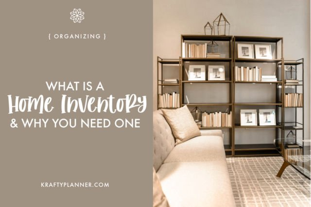 Home Inventory Planner