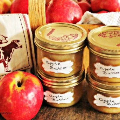 Homemade Apple Butter Canning Recipe