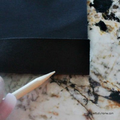 How to fold and crease washable paper for making DIY bags for storage