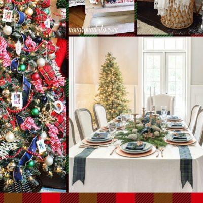 Tartan Plaid Christmas Decor Ideas