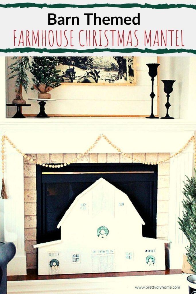 Barn themed Christmas decorating ideas
