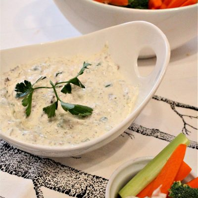 Easy Loaded Ranch Dip Recipe