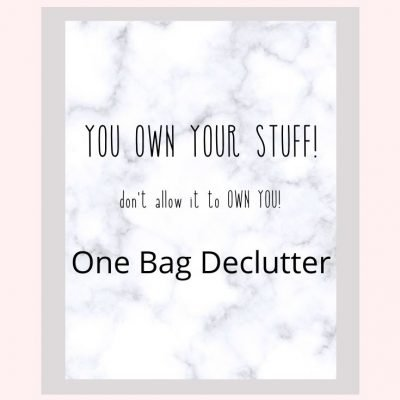Declutter Ideas with Printable Checklist