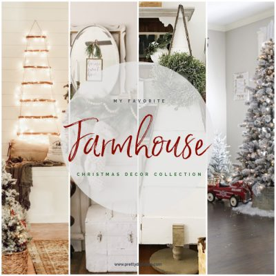 A collection Farmhouse Christmas Decorating