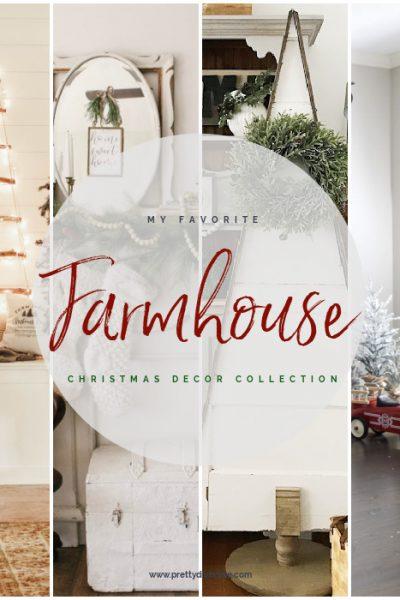 A collection Farmhouse Christmas Decorating