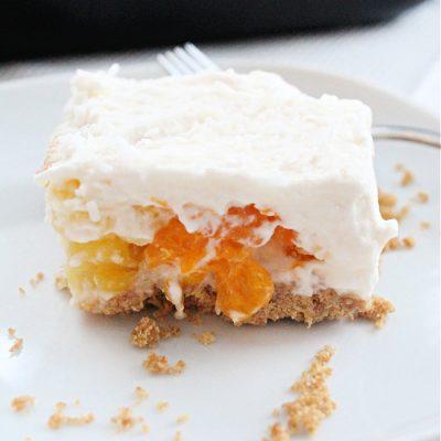 No Bake Pineapple Dessert