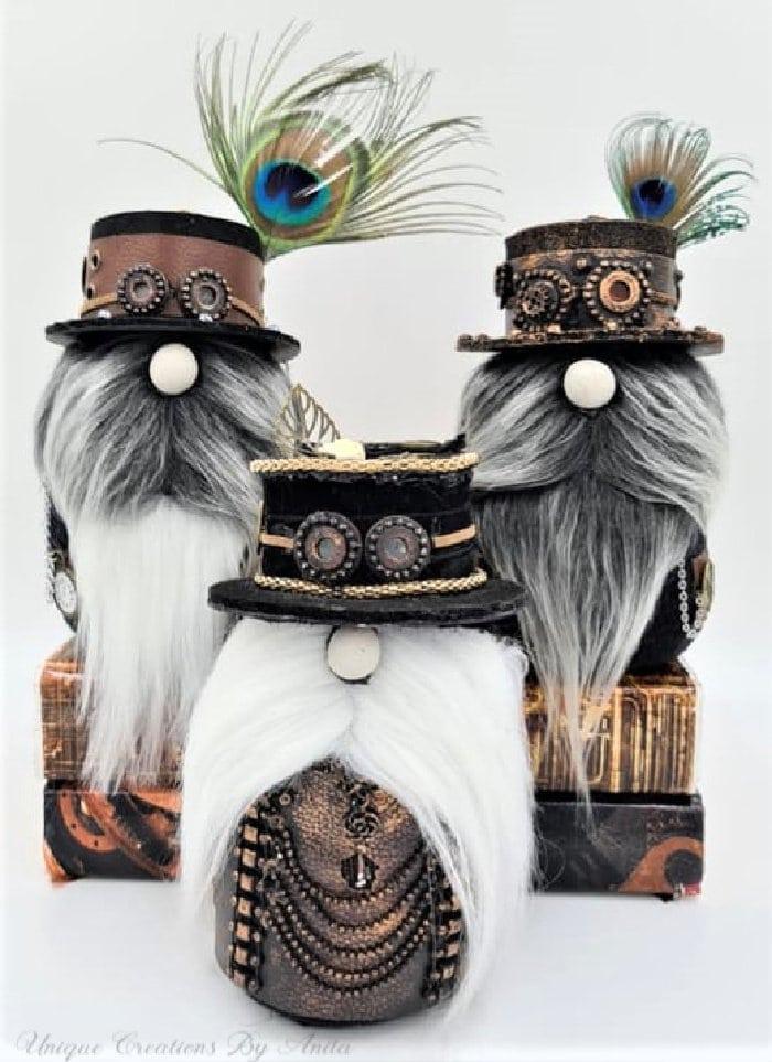 Three DIY Sock Gnomes for Christmas