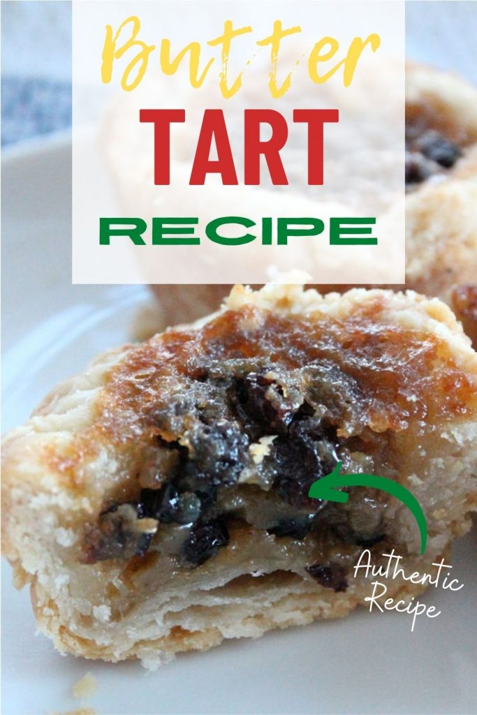 golden brown butter tart recipe with brown sugar and currants