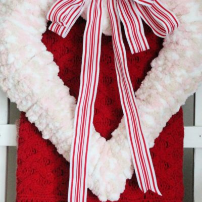 DIY Valentine Craft Wreath