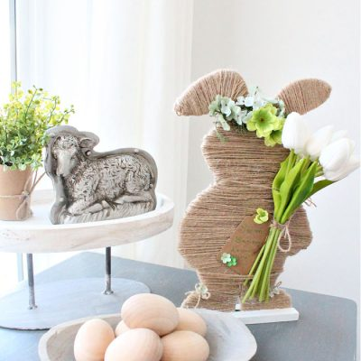 Dollar Store Easter Bunny Craft