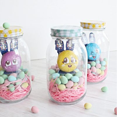 DIY Easter Mason Jar Gift for Tweens