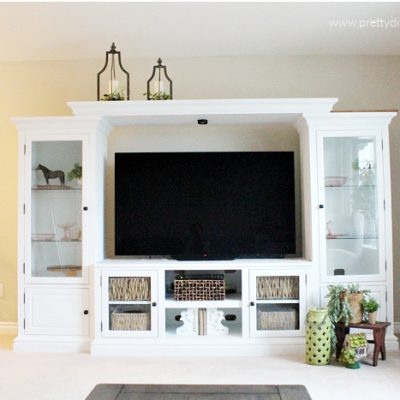 How to Repair, Paint and Organize an Entertainment Center