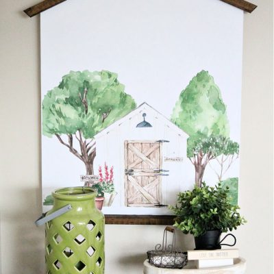 Farmhouse DIY Wall Decor with Printable